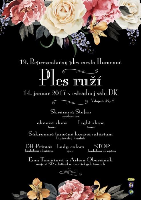 2b6c69d73f Pozvánka na 19. Reprezentačný ples mesta Humenné     Aktuality a oznamy      Mesto Humenné     www.humenne.sk