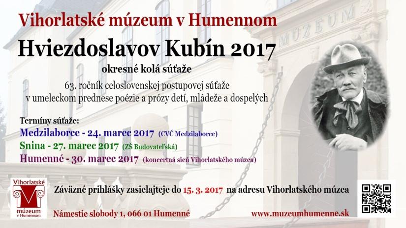 82506f28a Hviezdoslavov Kubín 2017 ::: Aktuality a oznamy ::: Mesto Humenné ...