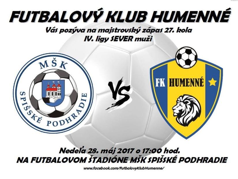 147509767 Pozvánky na futbalové zápasy 26., 27. a 28. mája 2017 ::: Aktuality ...