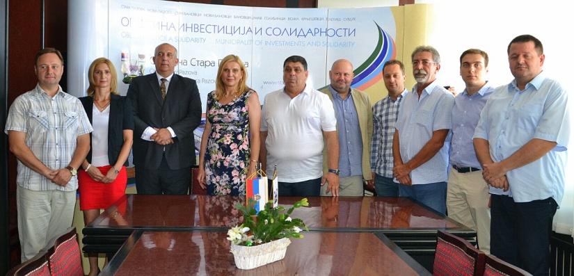 Mesto Humenné a srbské mesto Stará Pazova uzavreli zámer o ... 25fd0e88761