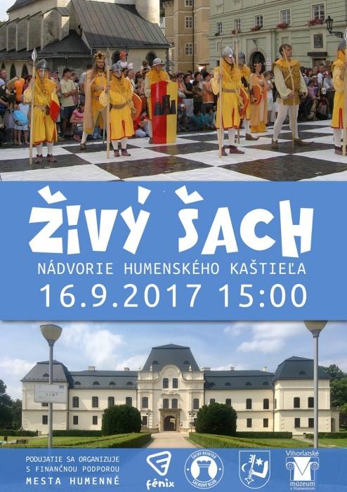 5eec0d24f Živý šach prvýkrát v Humennom ::: Aktuality a oznamy ::: Mesto ...
