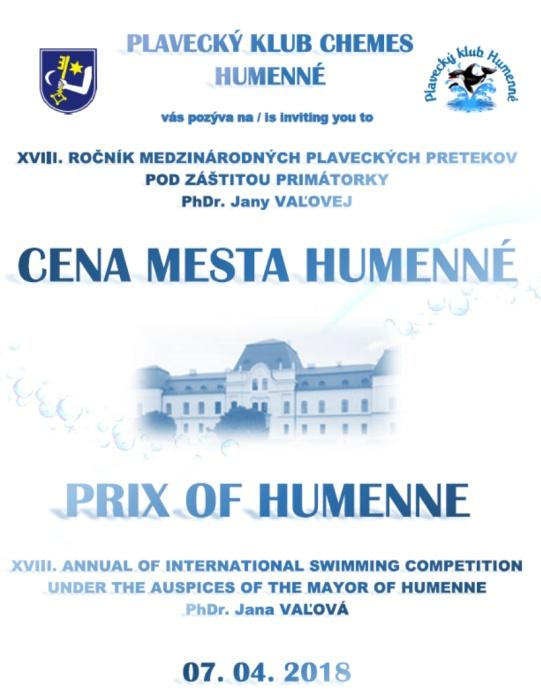 495f72ce8 Medzinárodné plavecké preteky 2018 ::: Aktuality a oznamy ::: Mesto Humenné  ::: www.humenne.sk