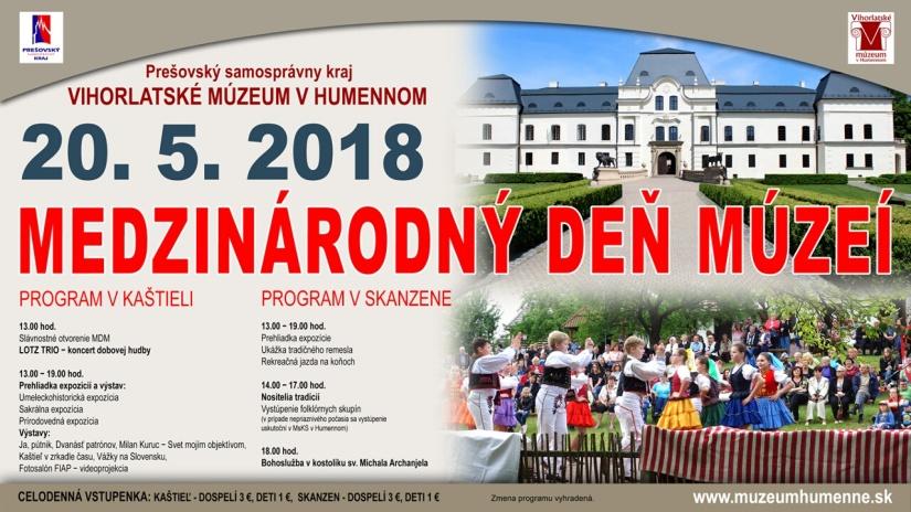 5acfb7cdb9156 Medzinárodný deň múzeí 2018 vo Vihorlatskom múzeu v Humennom ...