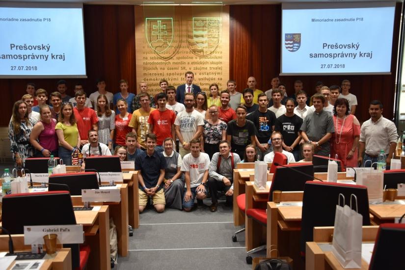 1e5ff1c7e4751 Svetové dni mládeže 2018 v Prešove podporilo aj mesto Humenné ...