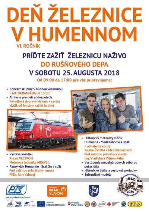 Obľúbený Deň železnice sa blíži     Aktuality a oznamy     Mesto Humenné      www.humenne.sk 0c6fdb97525