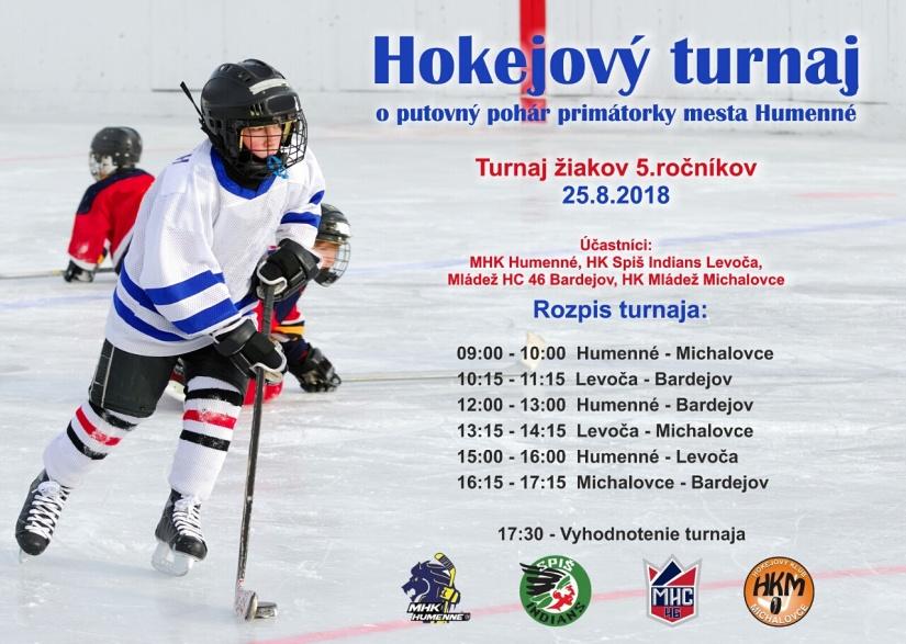 d63064452919e Pozývame na Hokejový turnaj žiakov 5. ročníkov ::: Aktuality a oznamy :::  Mesto Humenné ::: www.humenne.sk