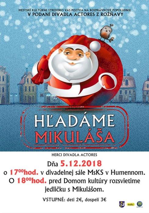 804f9c6ddd600 Na Mikuláša odštartujú už 23. Humenské vianočné trhy ::: Aktuality a ...