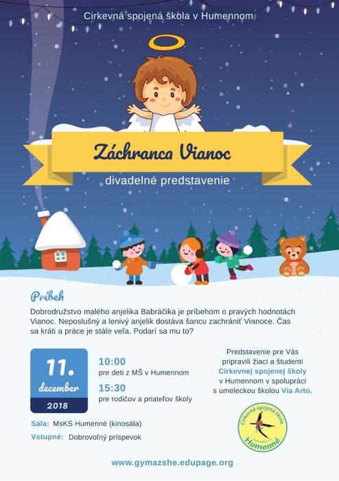 41353dee8907f Záchranca Vianoc ::: Aktuality a oznamy ::: Mesto Humenné ::: www.humenne.sk