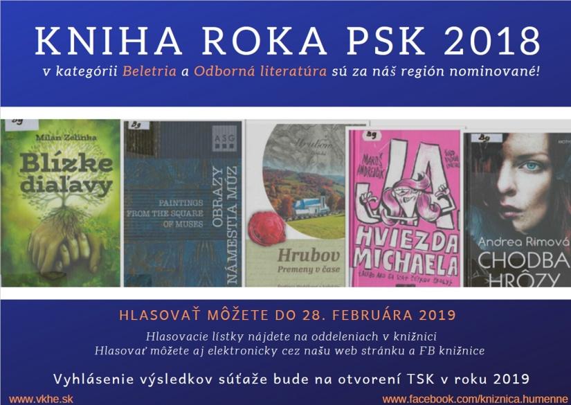 Kniha roka PSK 2018     Aktuality a oznamy     Mesto Humenné     www ... cd2a8a9e52f