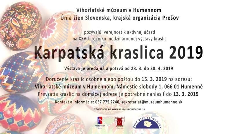 4cd0e295d Vihorlatské múzeum v Humennom pozýva autorov kraslíc na medzinárodnú ...