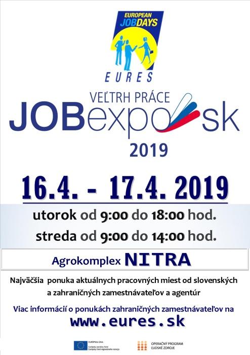 7037e4b0e643a Job Expo 2019 ::: Aktuality a oznamy ::: Mesto Humenné ::: www.humenne.sk