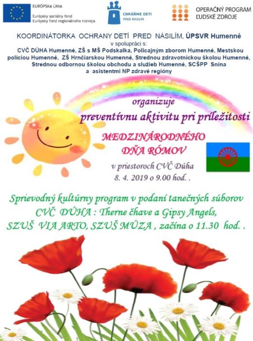 26e98c69a Deň Rómov 2019 ::: Aktuality a oznamy ::: Mesto Humenné ::: www ...
