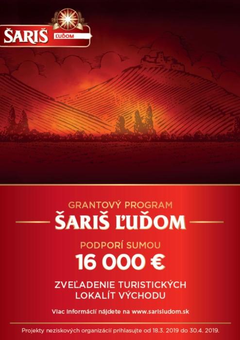 c245a0dc0 Grantový program Šariš ľuďom 2019 ::: Aktuality a oznamy ::: Mesto ...