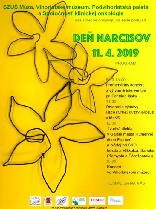 6c3022fcc Deň narcisov 11. apríla 2019 ::: Aktuality a oznamy ::: Mesto ...