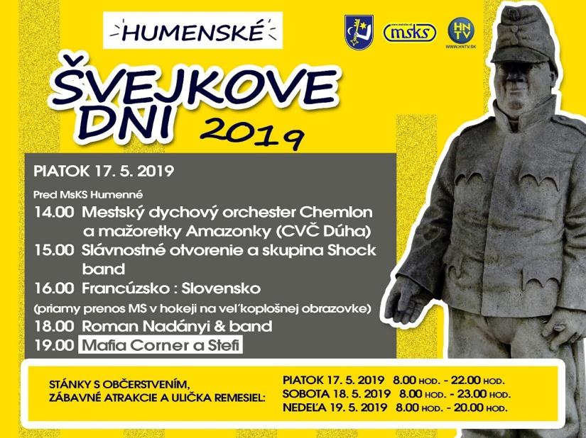 58c681abd Humenské Švejkove dni - program ::: Aktuality a oznamy ::: Mesto ...