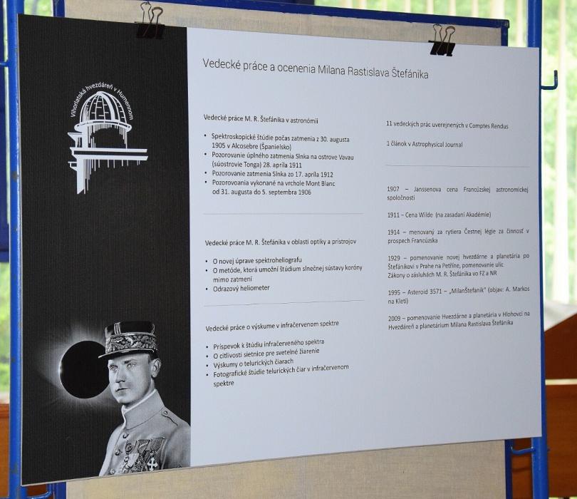 39b1ea9be2ee Výstava generál Milan Rastislav Štefánik - astronóm     Aktuality a oznamy      Mesto Humenné     www.humenne.sk